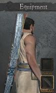 Bespoke Longbow (Detail)