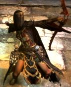 Magick Archer Grave Set Framae Blades Blackwing Bow