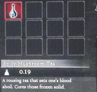 Dragon's Dogma - Spicy Mushroom Tea (Full)