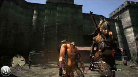 The Quest for the Dragon's Dogma Silk Lingerie (Thong)!
