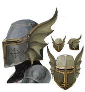 Concept Art - Dragon Knight's Helm