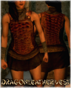 Armour Torso Dragonleather Vest