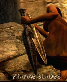 Weapon Daggers Framae Blades