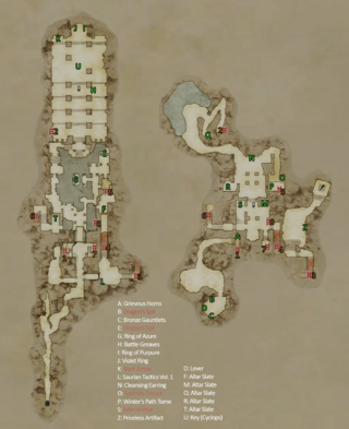 Watergods Altar map