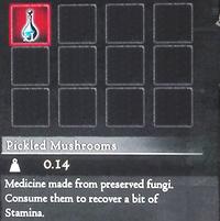 Dragon's Dogma - Pickled Mushrooms (Full)