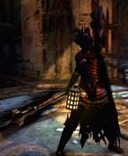 Mystic Knight Hellfire Set Virge of Madness Diabolic Shield