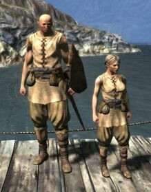 Cloth greaves plebian shirt 2