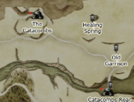 Dragon's Dogma - The Catacombs Map Location