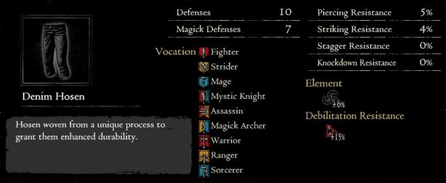 Dragonforged Denim Hosen