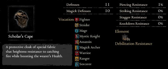 Dragonforged Scholar's Cape