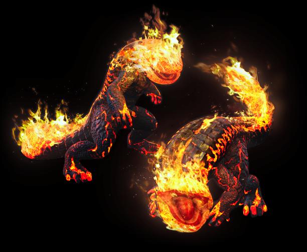 Pyre Saurian Dragon S Dogma Wiki Fandom Powered By Wikia