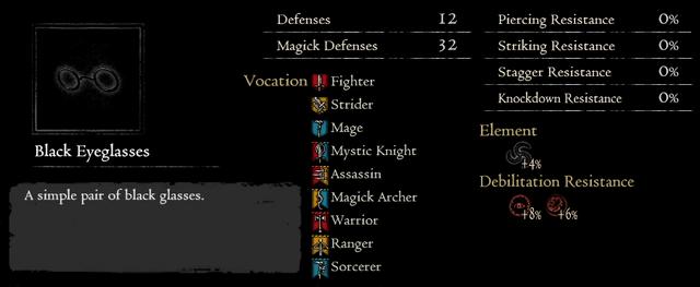 Dragonforged Black Eyeglasses