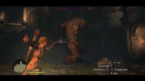 Rotunda E6, 4 Gorecyclops 5 Shaman, demonstrating Masterful Kill to head grab Thousand Kisses combo at the end