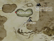 Dragon's Dogma - Lake Hardship Map Location