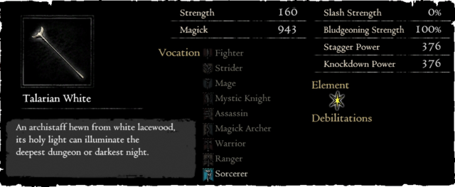 Dragonforged Talarian White