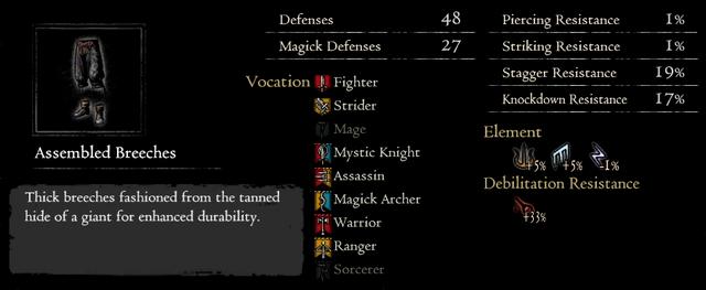Dragonforged Assembled Breeches