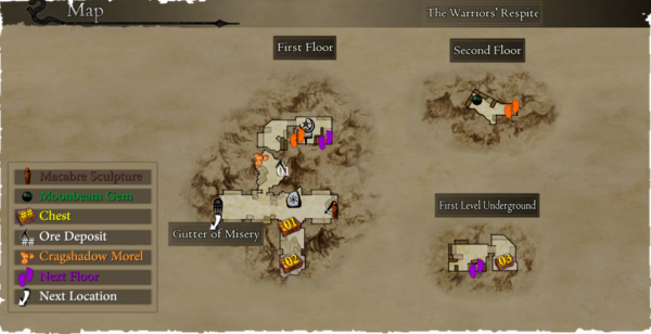 Map The Warrior's Respite