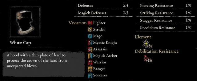 Dragonforged White Cap