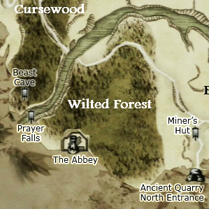 Wilted Forest map