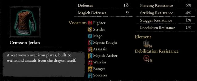 Dragonforged Crimson Jerkin