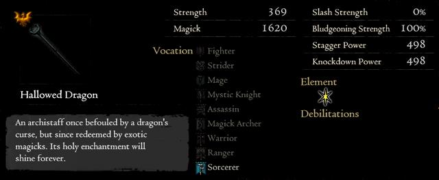 Gold Rarefied Hallowed Dragon