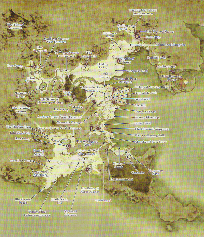 Image   Gransys Map. | Dragon's Dogma Wiki | FANDOM powered by