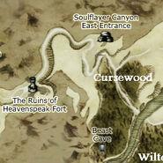 Cursewood map