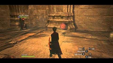 Chamber of Sorrow A4. 2 Vile Eyes slain.