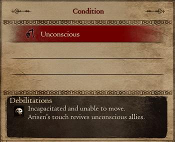 Unconcious status