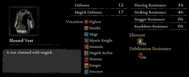 Dragonforged Blessed Vest