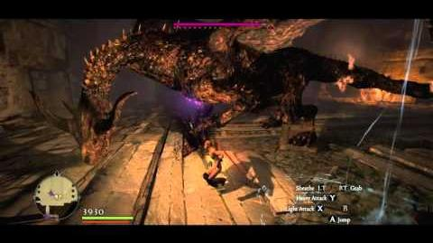 Cursed Dragon in the Pilgrim's Gauntlet