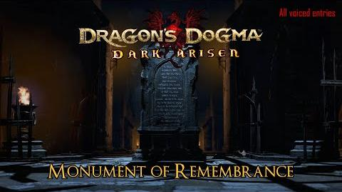 Dragon's Dogma - Dark Arisen Monument of Remembrance's voiced entries