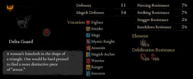 Gold Rarefied Delta Guard