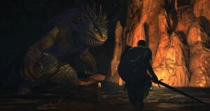 Dragon's Dogma - Giant Saurian