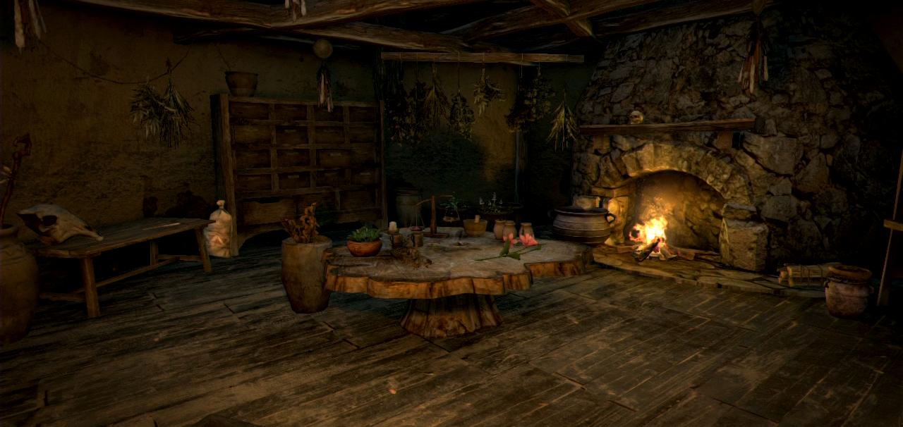 Captivating Witchu0027s House