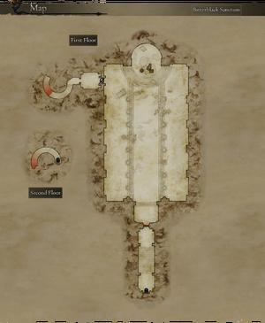 Map Bitterblack Sanctum Clear