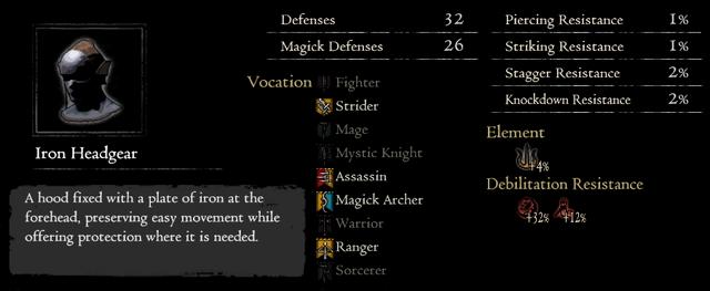Dragonforged Iron Headgear