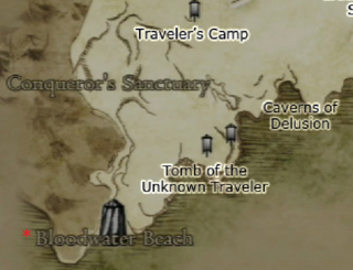 Dragon's Dogma - Bloodwater Beach Map Location
