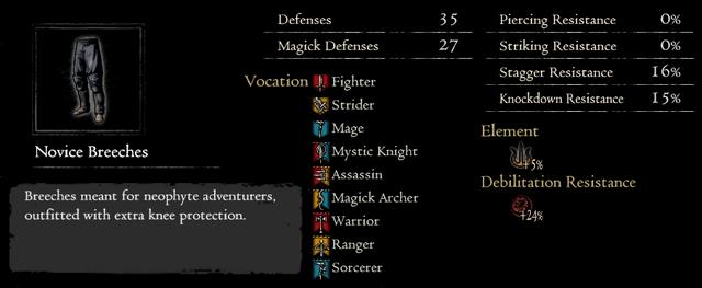 Dragonforged Novice Breeches
