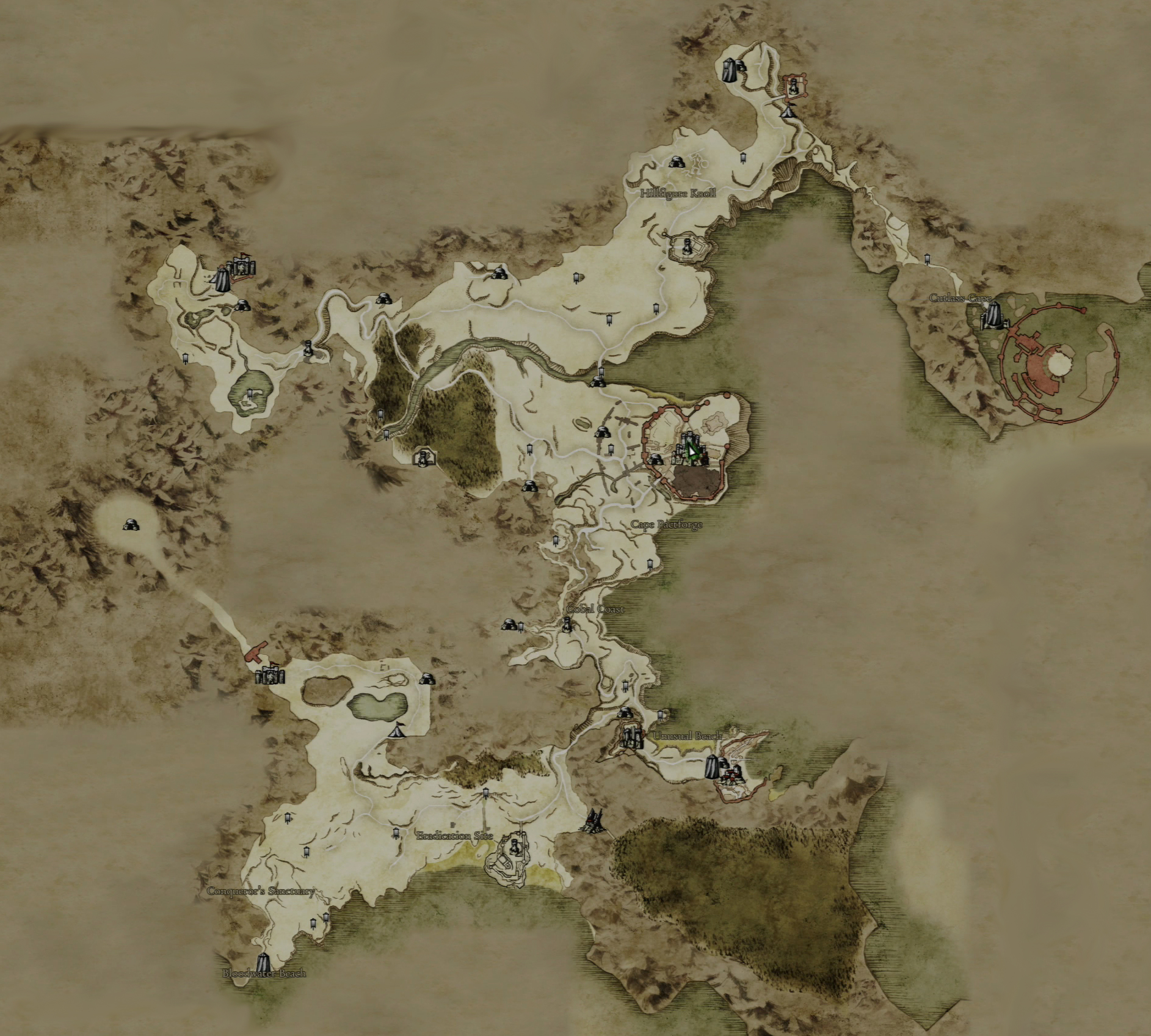 Image   Gransys map large. | Dragon's Dogma Wiki | FANDOM