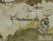 Dragon's Dogma - Eradication Site Map Location