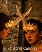 Armour Head Mistletoe Circlet