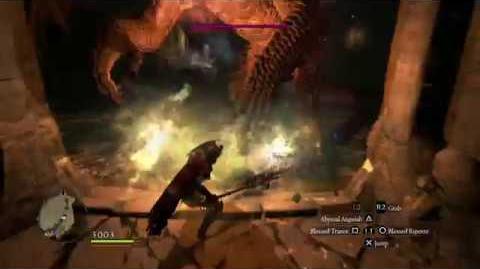 Dragon's Dogma- Dark Arisen - Mystic Knight VS Firedrake and Frostwyrm