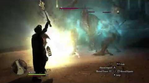 Dragon's Dogma- Dark Arisen - Mystic Knight VS 3 Living Armors