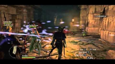Magick Archer vs 3 Garm (using Ricochet Hunter)