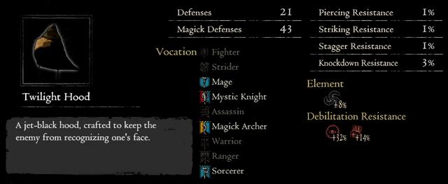 Dragonforged Twilight Hood