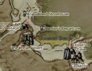 Dragon's Dogma - Dripstone Cave Map Location