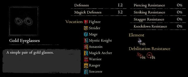 Dragonforged Gold Eyeglasses