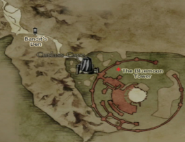 Dragon's Dogma - The Bluemoon Tower Map Location