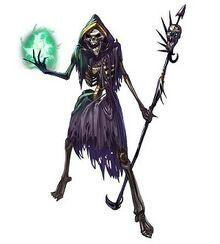 Skeleton-sorcerer